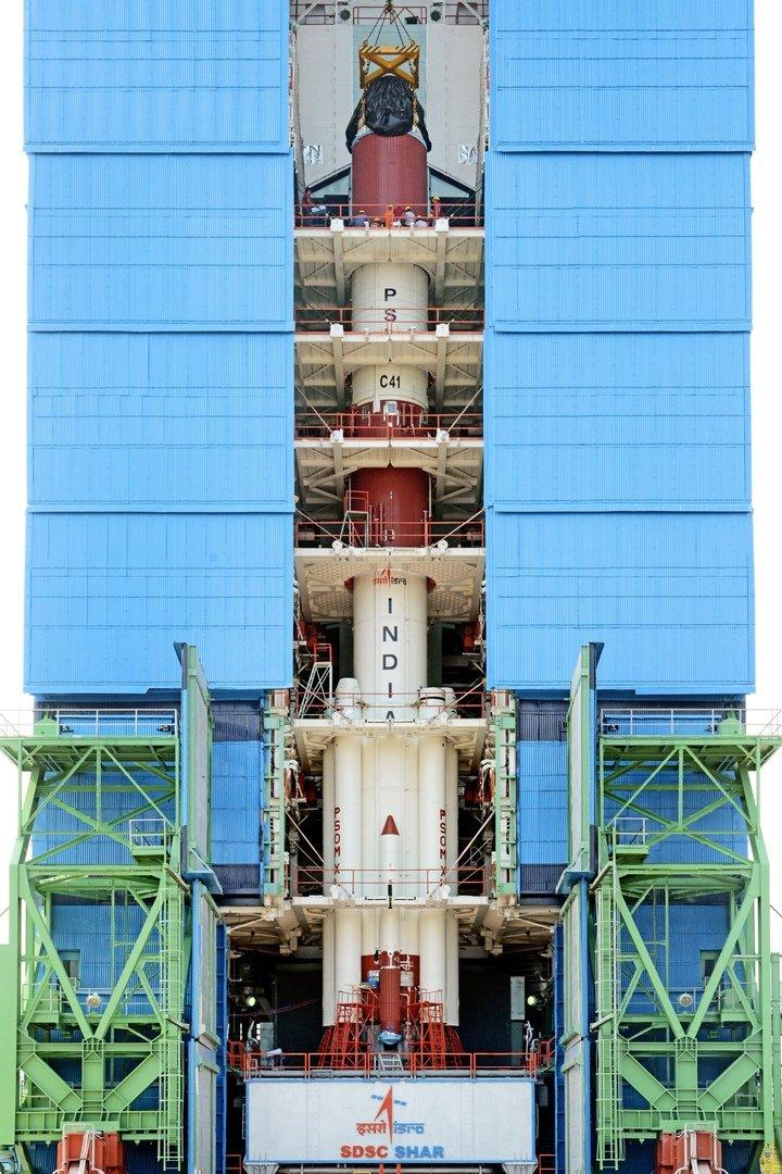 PSLV, Космический центр имени Сатиша Дхавана, Индия