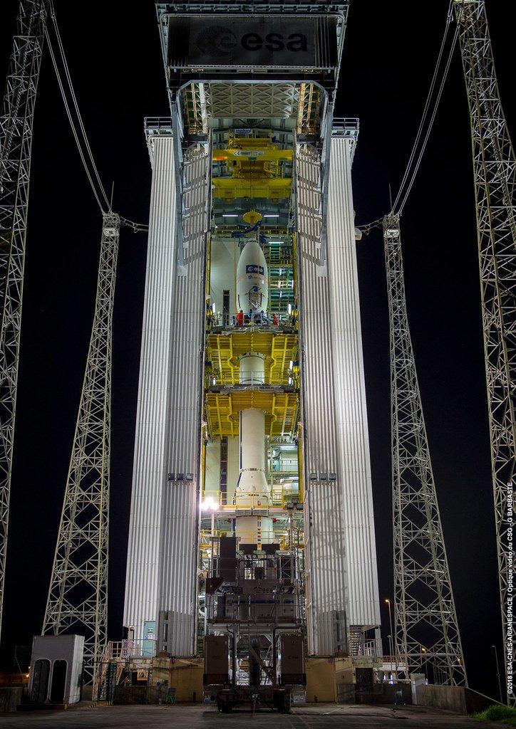 Vega, Гвианский космический центр ELV, Французская Гвиана