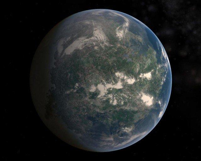 экзопланета Gliese 581G