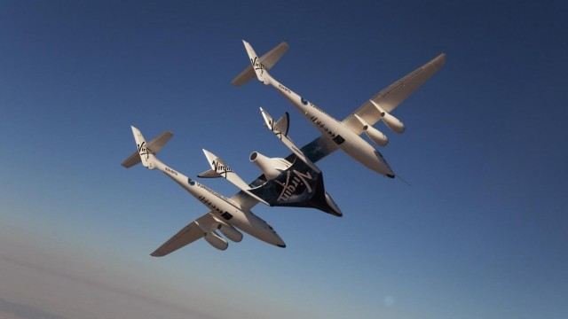 SpaceShipTwo Юнити