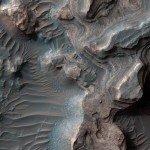 NASA опубликовали снимок глиняной долины на Марсе