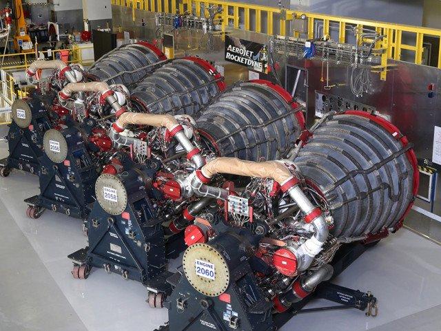 Двигатели RS-25