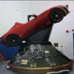 Симуляция полёта Falcon Heavy с Tesla Roadster